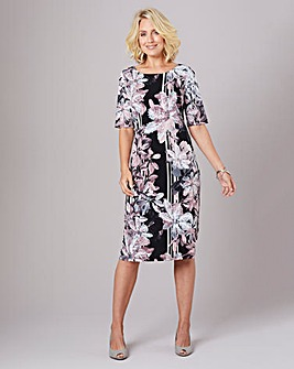 Julipa Print Stretch Shift Dress