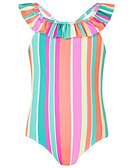 Monsoon Sibel Stripe Swimsui