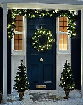 Outdoor Door Decoration Set