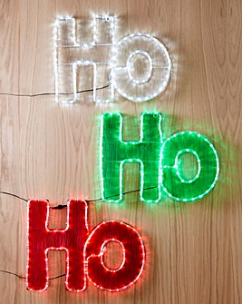 HoHoHo Outdoor LED Light
