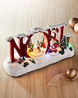 Noel Christmas Scene