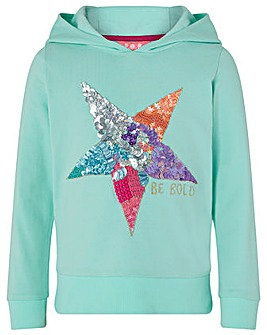 Monsoon Be Bold Hooded Sweat