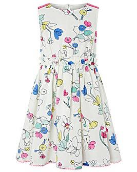 Monsoon Scribble Dress