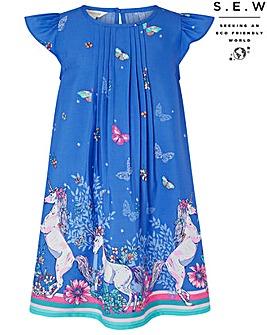 Monsoon S.E.W Tabitha Unicorn Dress