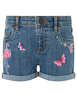 Monsoon Farrah Flamingo Short