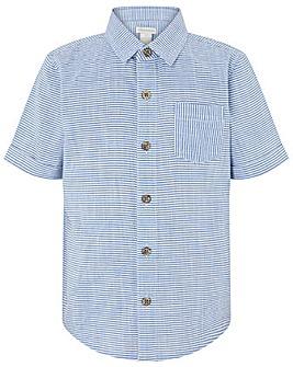 Monsoon Stan Stripe Ss Shirt