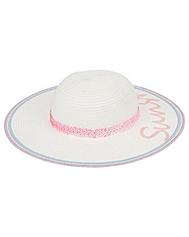 Monsoon Girls Sunshine Irridescent Hat