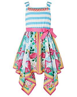 Monsoon Mabel Flamingo Dress