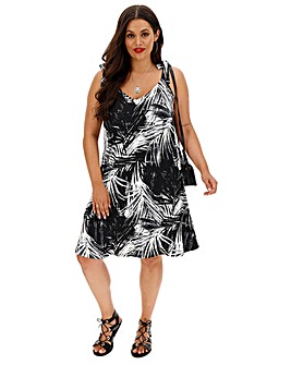 Tie Shoulder Cami Dress