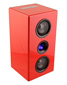 Steepletone Bluetooth Speaker - Red