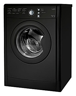 Indesit 7KG Vented Sensor Dryer Black