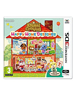 Animal Crossing Happy Home Designer-3DS