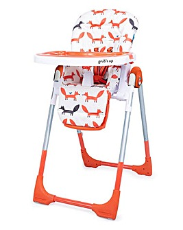 Cosatto Noodle Supa 0+ Highchair - Foxes