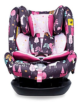 Cosatto All in All 0 + Group 123 Car Seat - Unicorn Land