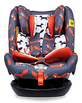 Cosatto All in All + Group 123 Car Seat - Mister Fox