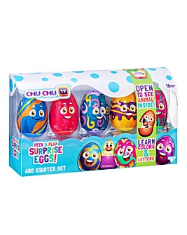 Chu Chu TV Surprise Egg ABC Starter Set