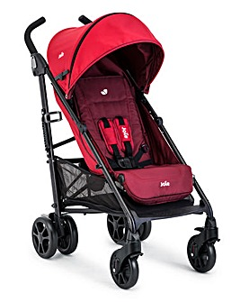 Joie Brisk Stroller Including Rain Cover - Cherry