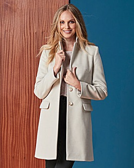 Helene Berman Button-up Coat