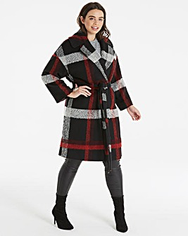 Helene Berman Plaid Coat