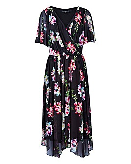Scarlett & Jo Handkerchief Floral Dress
