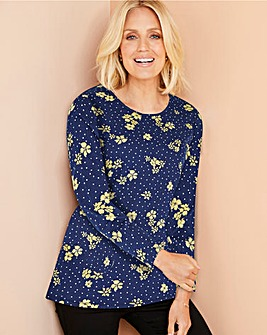 Julipa Floral Print T Shirt