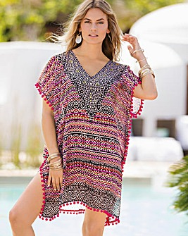 Together Ethnic Geo Kaftan