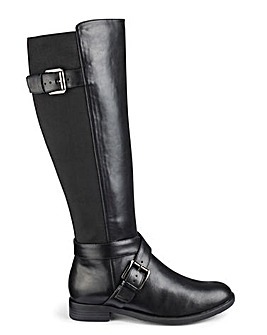 High Leg Boots EEE Fit Curvy Calf