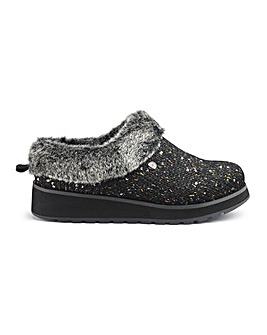 Skechers Glitter Mule Slippers