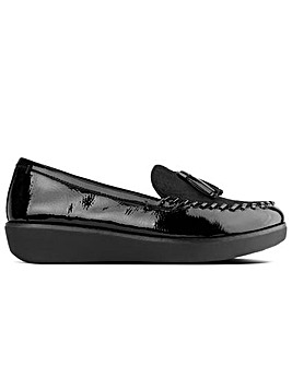 FitFlop Paige Tassel Patent  Moccasins