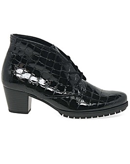 Gabor Prance Womens Lace Up Ankle Boots