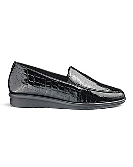 Cushion Walk Twin Gusset Flexible Loafers Extra Wide EEE Fit