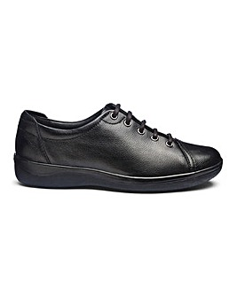 Padders Leather Lace To Toe Shoes Extra Wide EEE Fit
