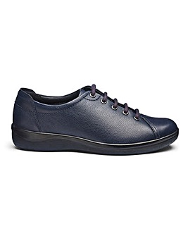 Padders Leather Lace Up Shoes E Fit