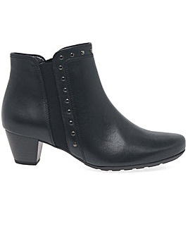 Gabor Cheyenne Womens Zip Ankle Boots