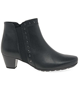 Gabor Cheyenne Wider Fit Zip Ankle Boots