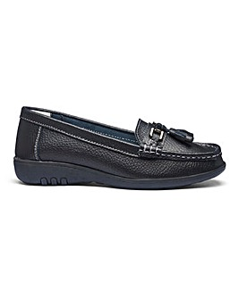 Leather Tassel Loafers EEEEE Fit