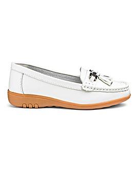 Leather Tassel Loafers EEEEE Fit