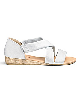 aaab480c656 Soft Strap Espadrille Sandals E Fit