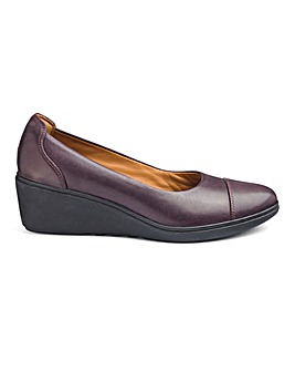 Clarks Slip On Wedge Shoes Standard D Fit