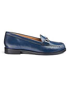 Premium Leather Loafers EEE Fit