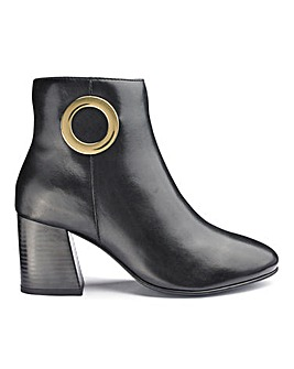 Premium Leather Ankle Boots E Fit