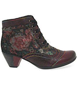 Rieker Lily Womens Brogue Ankle Boots