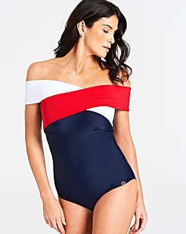 Joanna Hope Wrap Swimsuit