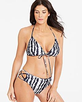 Strap Back Tie Dye Bikini Set