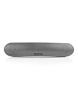 Intempo Curved Bluetooth Silver Speaker