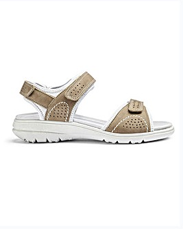 Hotter Mae Nubuck Sandals D Fit