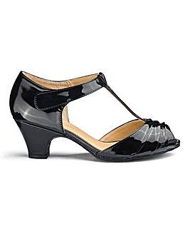 T Bar Occasion Shoes E Fit