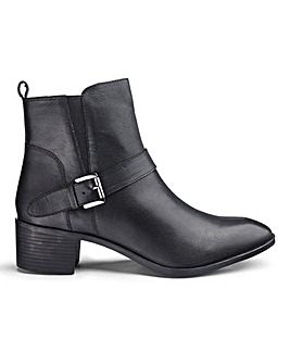 Lotus Leather Ankle Boots E Fit