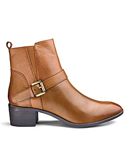 Lotus Leather Ankle Boots EEE Fit