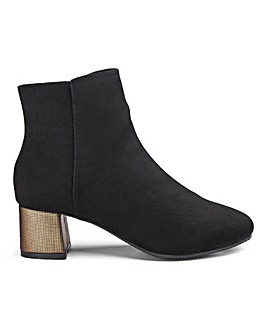 Flexi Sole Ankle Boots E Fit